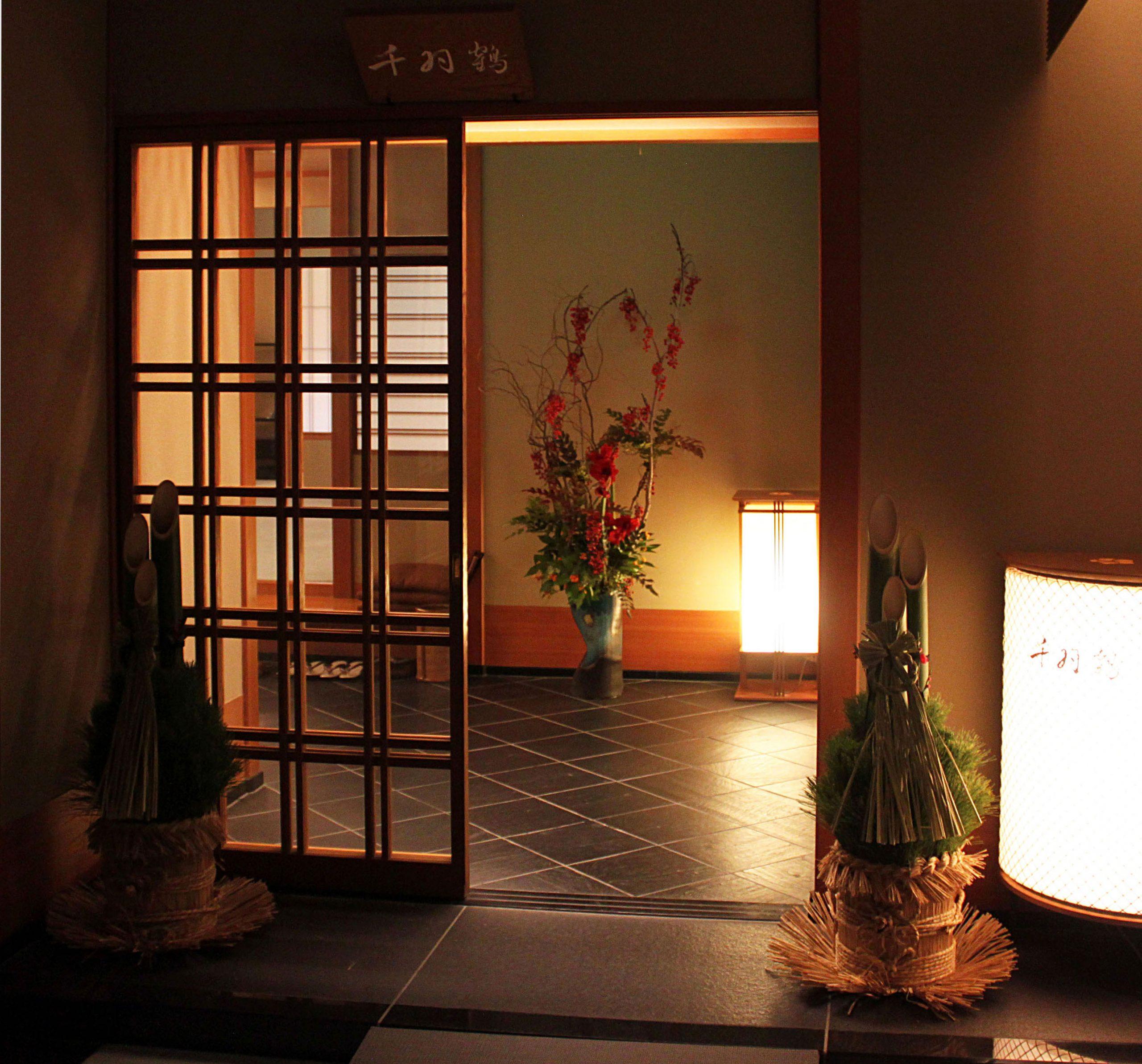 2014   料亭「千羽鶴」ホテルニューオータニ(東京)<br> At the Senbazuru restaurant, Hotel New Otani, Tokyo