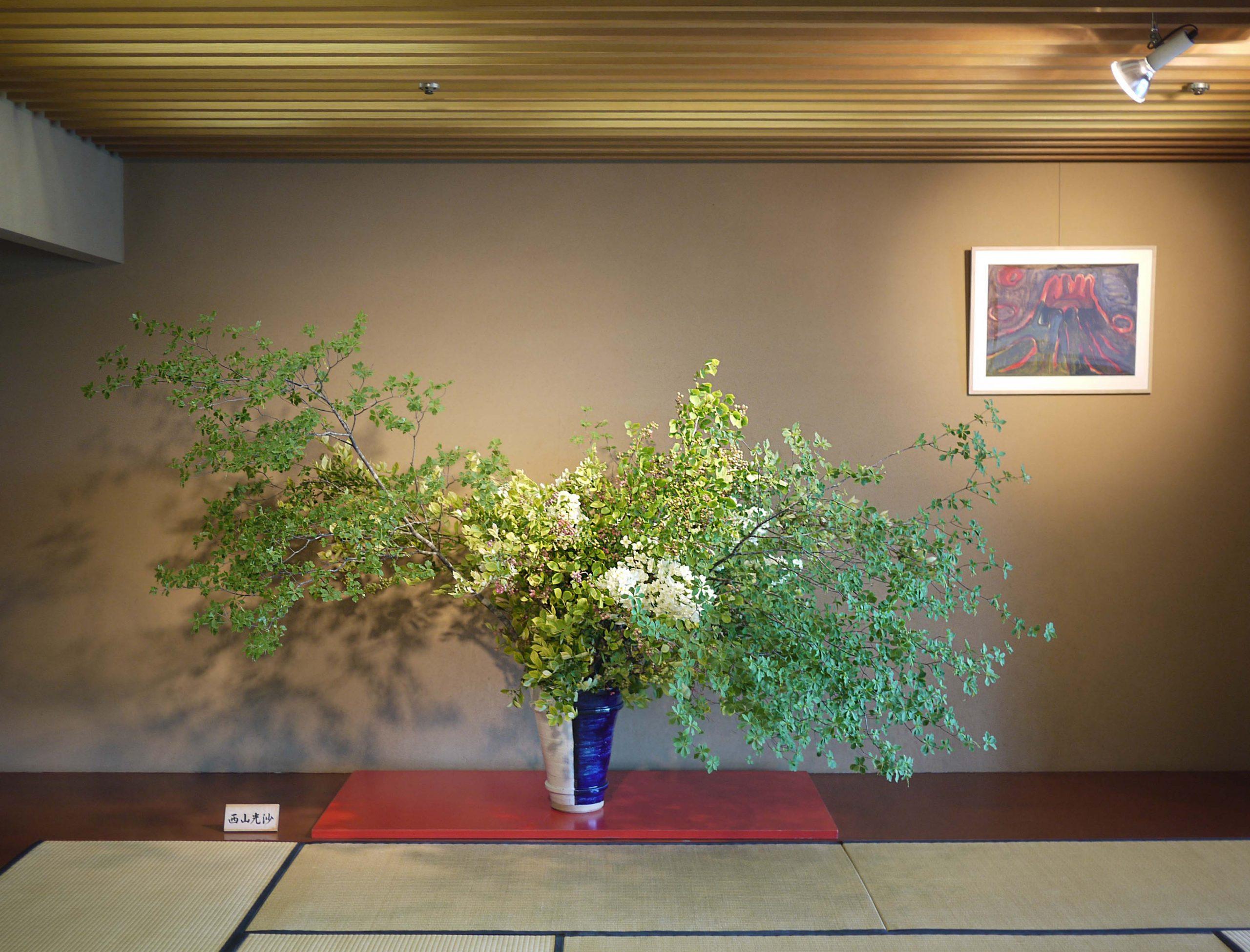 2013  草月会館 日本間<br> In the Japanese room at Sogetsu headquarters, Akasaka, Tokyo